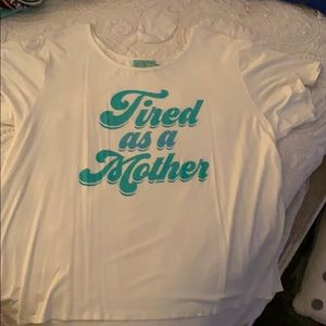 Tired as a Mother Judith March top